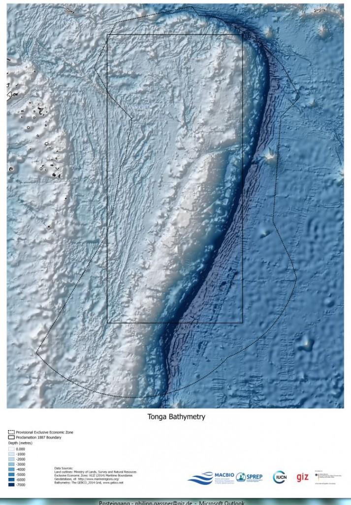 Tonga Bathimetry
