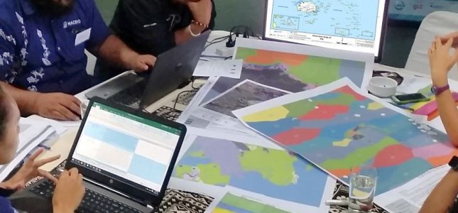 Describing Fiji's marine environment by Seema Deo