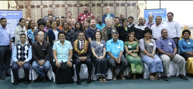 Participants of the Fiji Marine Priority Workshop